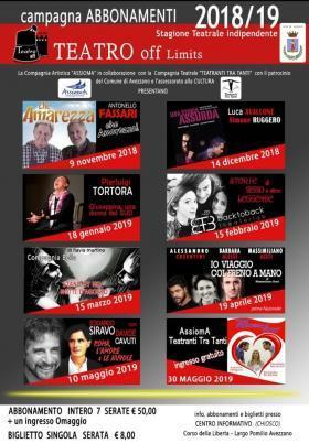 TEATRO OFF-LIMIT AL CASTELLO ORSINI COLONNA - AVEZZANO