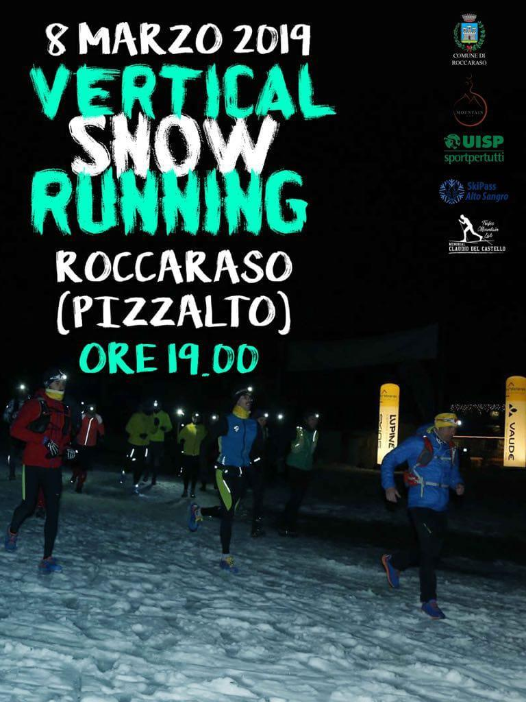 WINTER VERTICAL SNOW RUNNING - ROCCARASO (AQ)