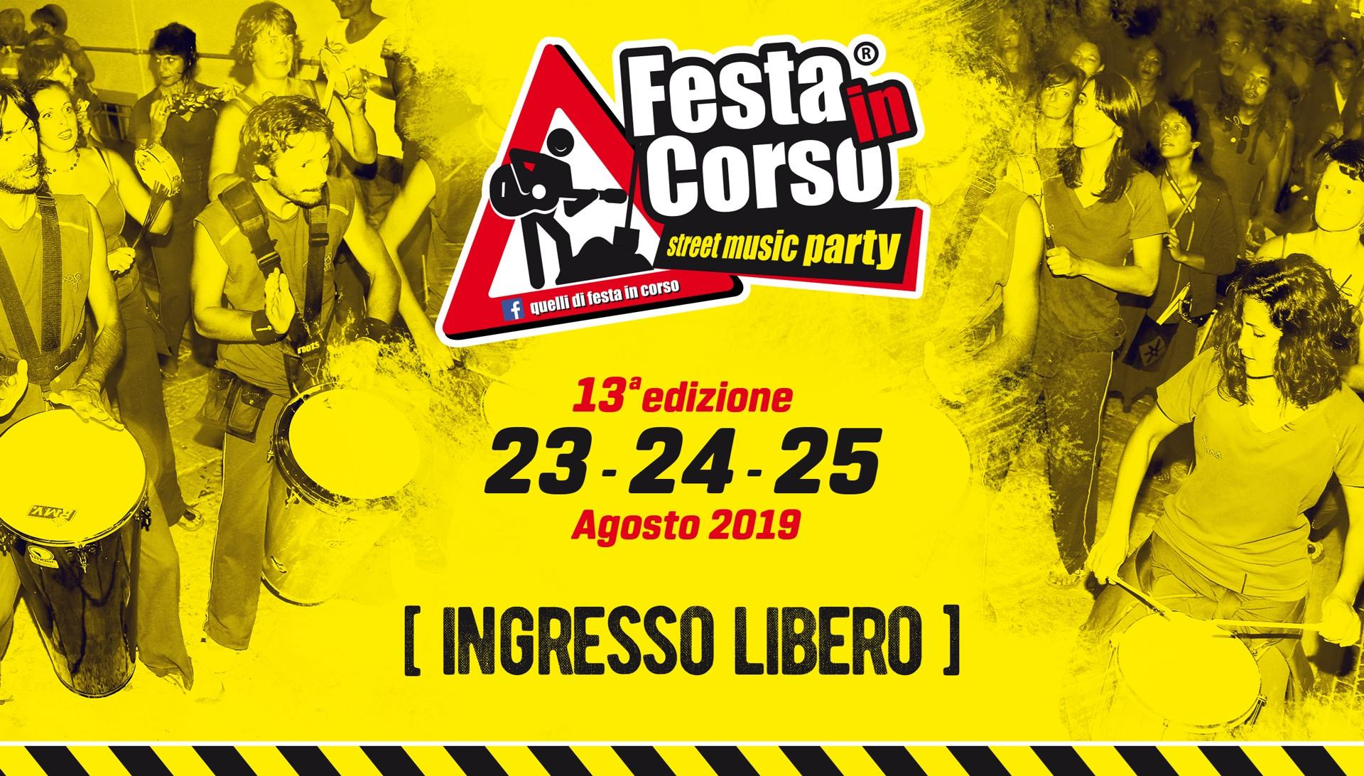 FESTA IN CORSO - STREET MUSIC PARTY - CITTà SANT'ANGELO