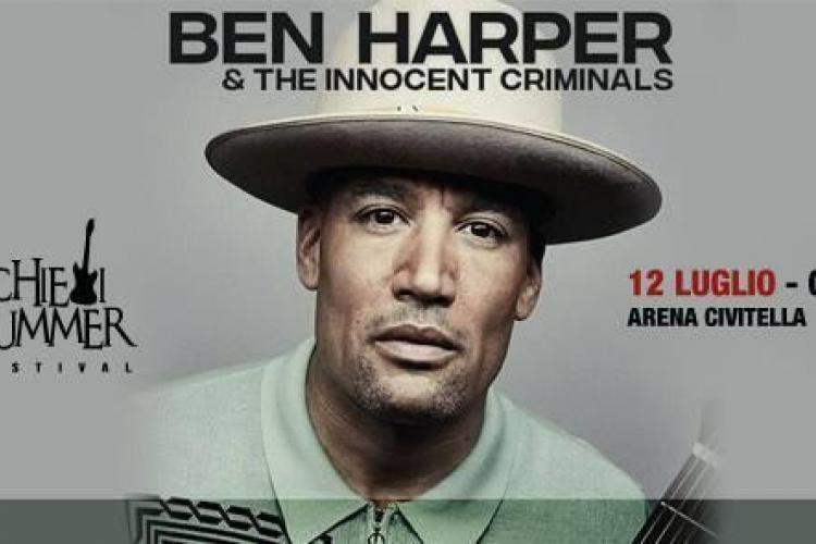 BEN HARPER & THE INNOCENT CRIMINALS ALL'ARENA CIVITELLLA DI CHIETI